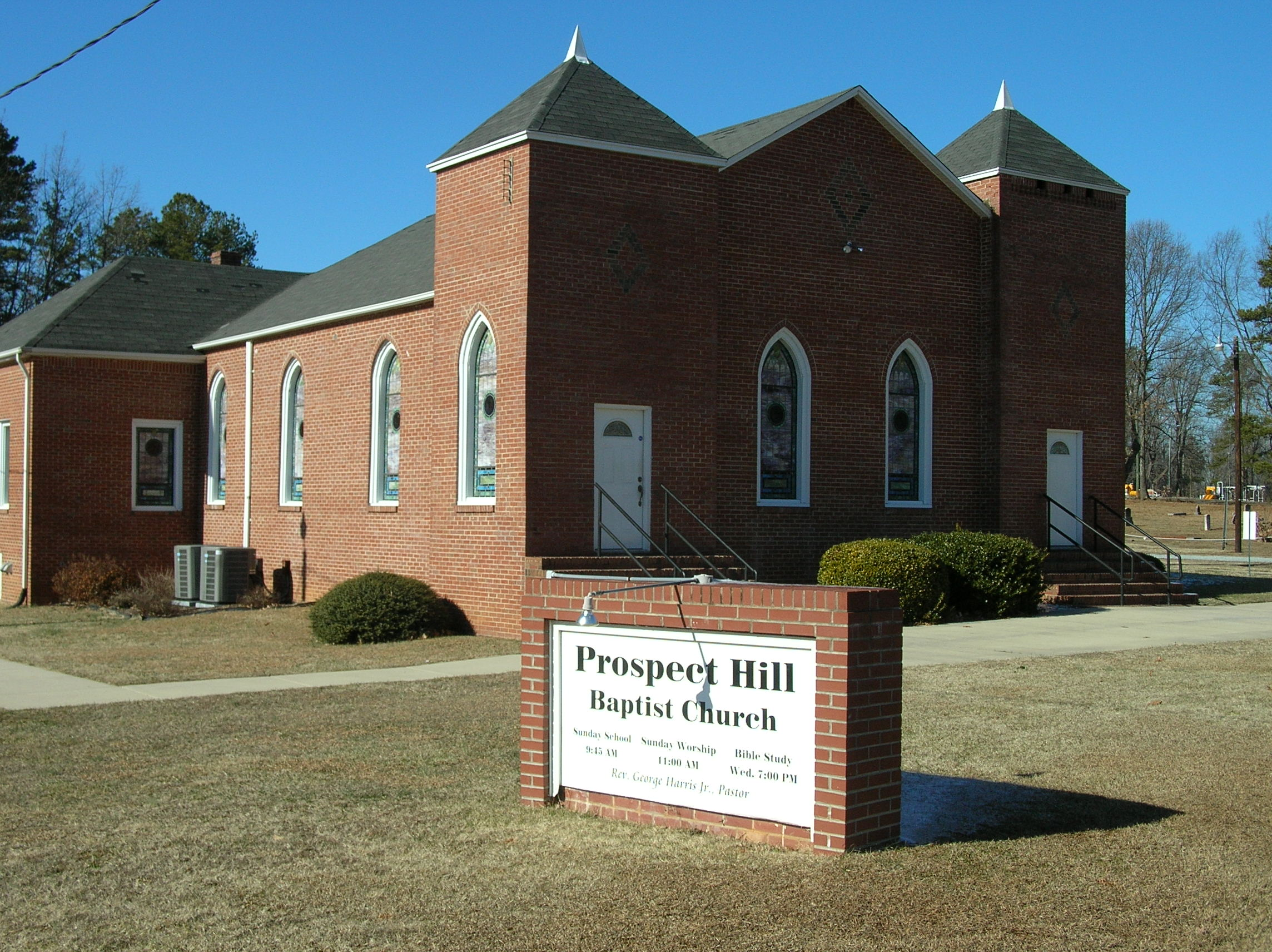 Prospect hill baptist church